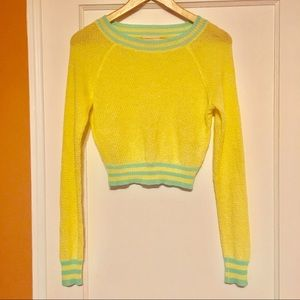 Semi-Cropped Knit Pullover